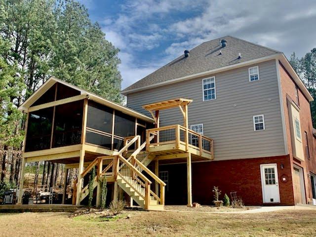 Custom Deck Builder Siding Replacement New Windows - Alabama Decks & Exteriors - Shelby County Jefferson County