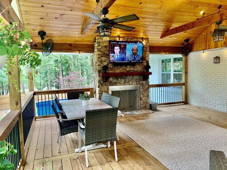 Custom Porch Builder Deck Designer in Shelby County - Alabaster