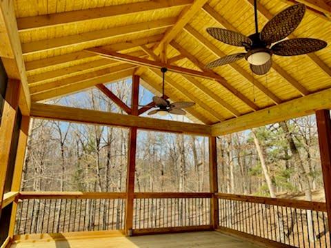 Custom Porch Builder Siding - Alabama Decks & Exteriors - Shelby County Jefferson County