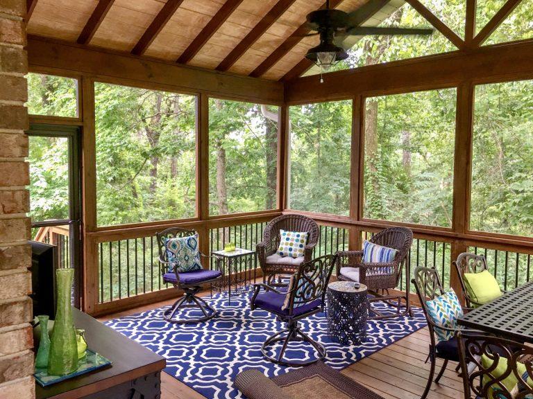 Custom Porch Designer Deck Builder Contractor in Shelby County - Alabama Decks & Exteriors