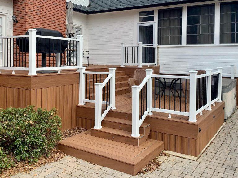Deck Builders in Alabama - Multi-Level Decking Design