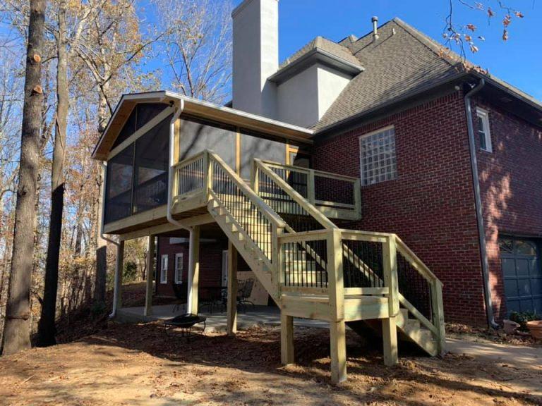 Shelby County Deck Builder Contractor Company - Alabama Decks & Exteriors