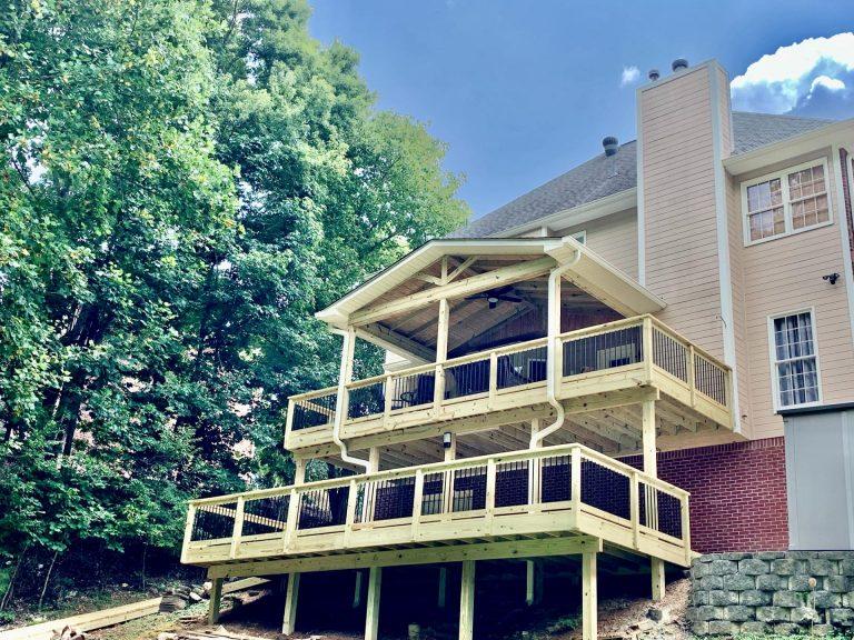 Shelby County Jefferson County Deck Builder Contractor Company - Alabama Decks & Exteriors